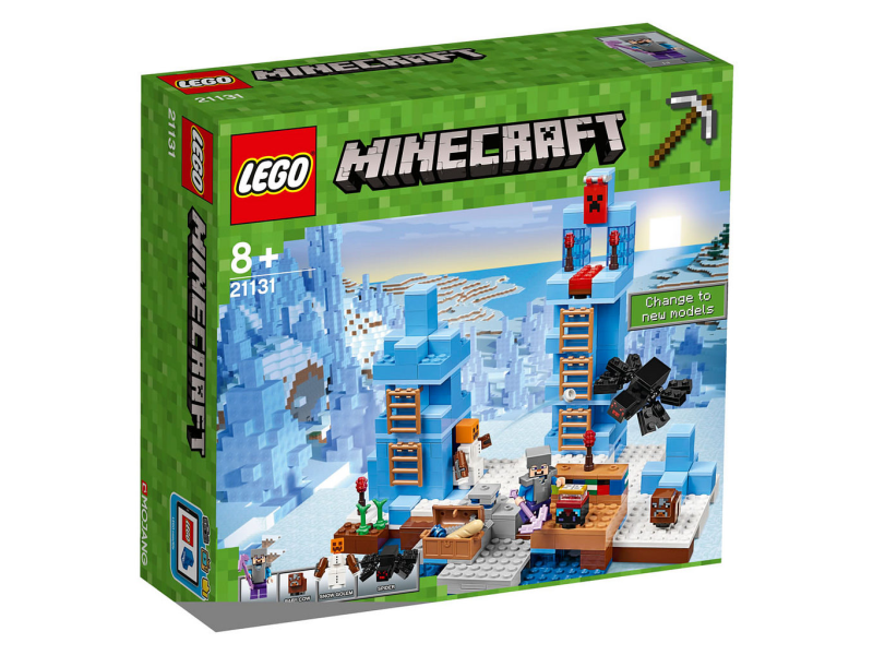 Lego Minecraft 21131 Lodowe Kolce Sklep Internetowy Planetaklockowpl