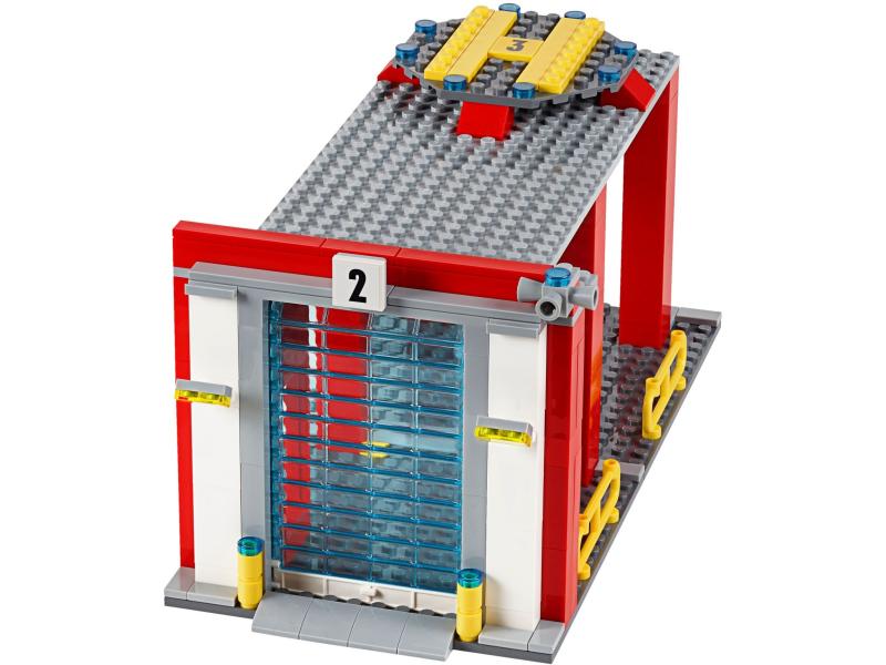 Lego City 60110 Remiza Strażacka Sklep Internetowy Planetaklockowpl
