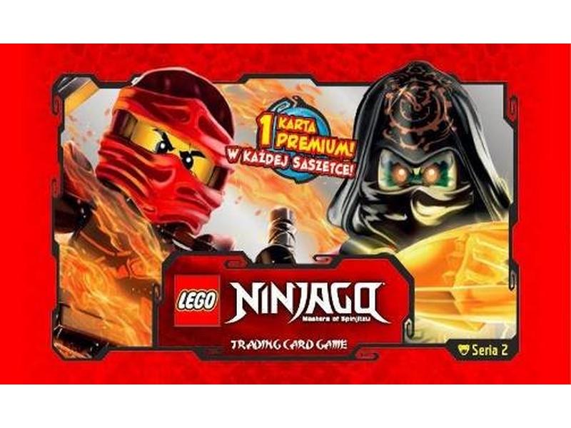 Aktualne LEGO Ninjago 513466 Saszetka z kartami - Gra karciana - 2 seria JG12