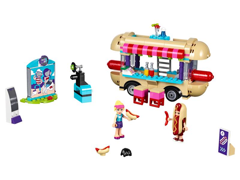 Lego Friends 41129 Furgonetka Z Hot Dogami W Parku Rozrywki Sklep