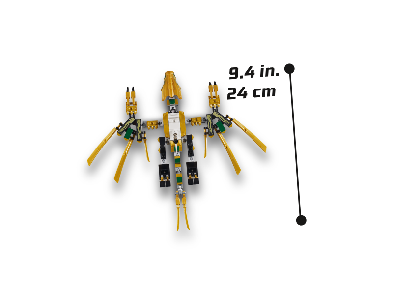 Lego Ninjago 70666 Złoty Smok Sklep Internetowy Planetaklockowpl