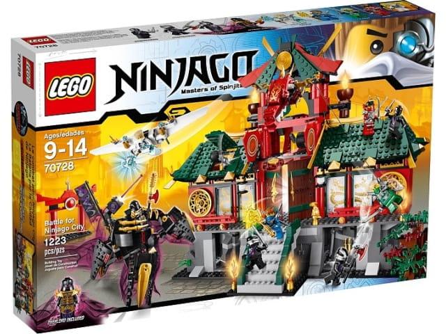 Lego Ninjago 70728 Bitwa O Ninjago Sklep Internetowy Planetaklockowpl