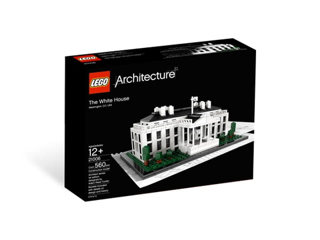 Lego Architecture White House 21006: LEGO Architecture 21006 White House