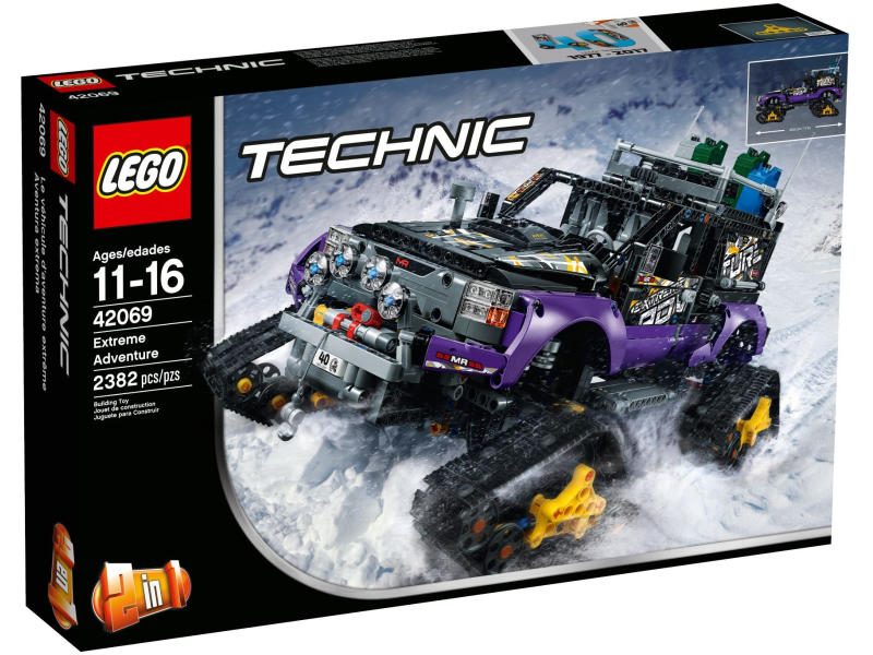 Lego Technic 42069 Ekstremalna Przygoda Zestaw Planetaklockowpl