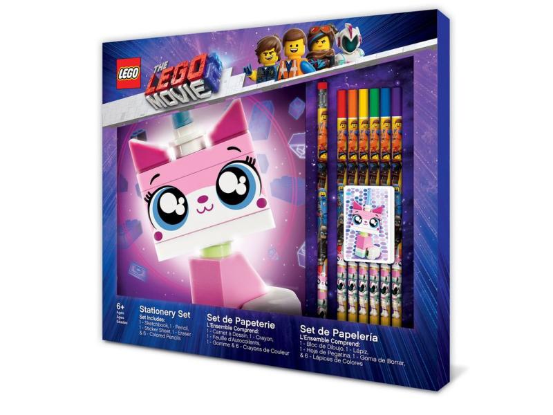 Lego Classic 52347 Zestaw Przyborów Szkolnych Lego Movie 2