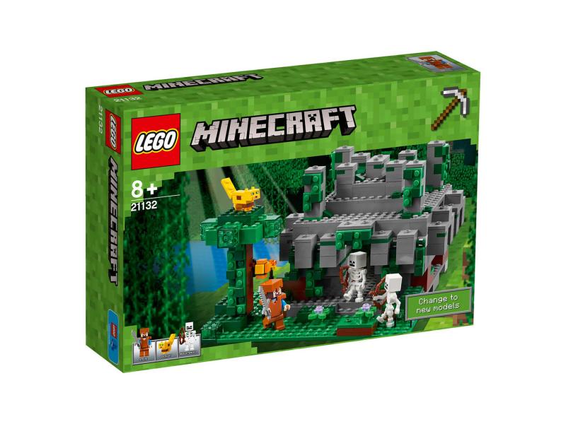 Lego minecraft 21132 wi tynia w d ungli planeta klock w sklep z klockami leg - Video minecraft construction de fou ...