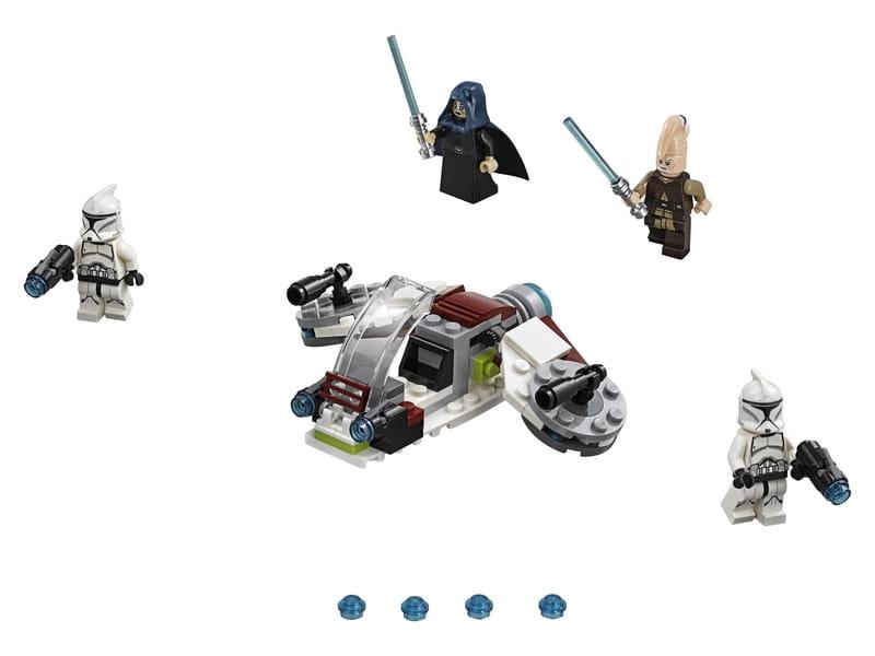 Lego 75206 Star Wars Jedi I żołnierze Armii Klonów Sklep