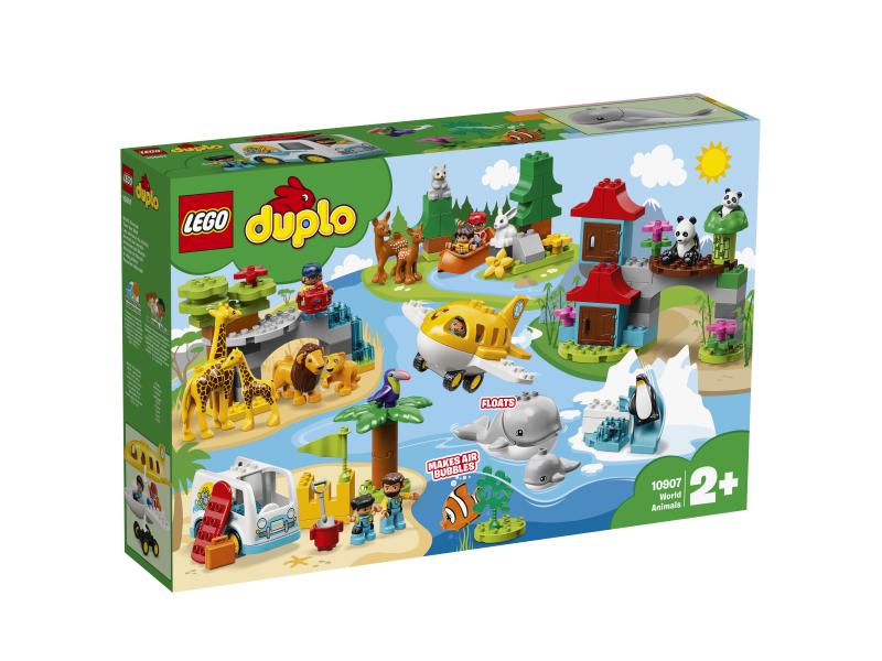 Lego Duplo 10907 Zwierzęta świata Sklep Internetowy Planetaklockowpl