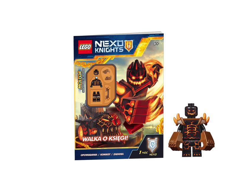 LEGO NEXO KNIGHTS LNC802 Walka o księgi!