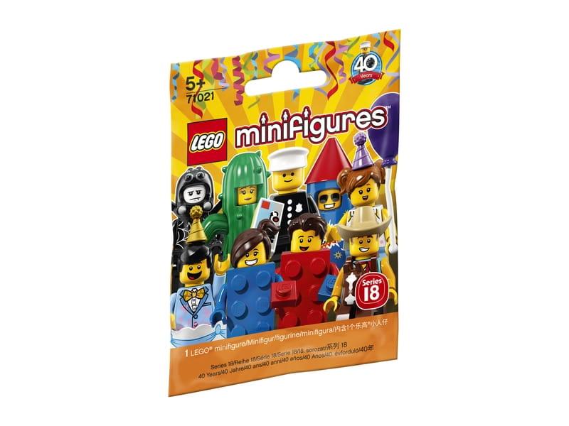 Lego Minifigures 71021 Minifigurki Seria 18 Impreza Sklep
